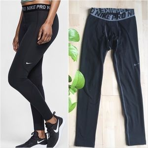 NIKE PRO Performance Compression Leggings Black XS